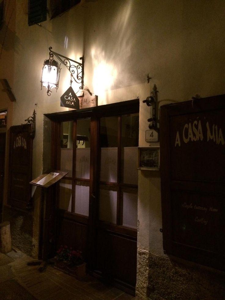 Restaurant A Casa Mia à Montefiridolfi (San Casciano Val di Pesa)