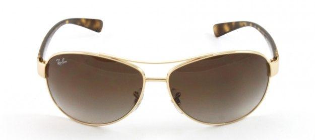 Gafa de Sol Ray Ban 3386 Marrón 001/13 #mujer #chica #her #sunglasses #RayBan #woman