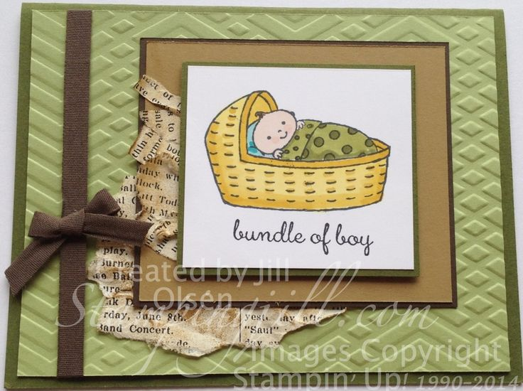 Stampingjill.com - Blendabilities, Bundled Baby Stampin' Up!