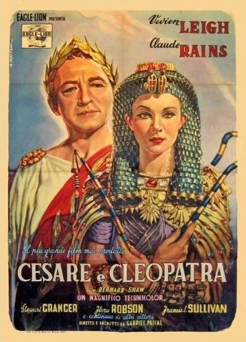 Cesare e Cleopatra (Caesar and Cleopatra ) è un film del 1945 diretto da Gabriel Pascal  e tratto dall'opera di George Bernard Shaw. Il film è stato presentato in concorso al Festival di Cannes 1946.