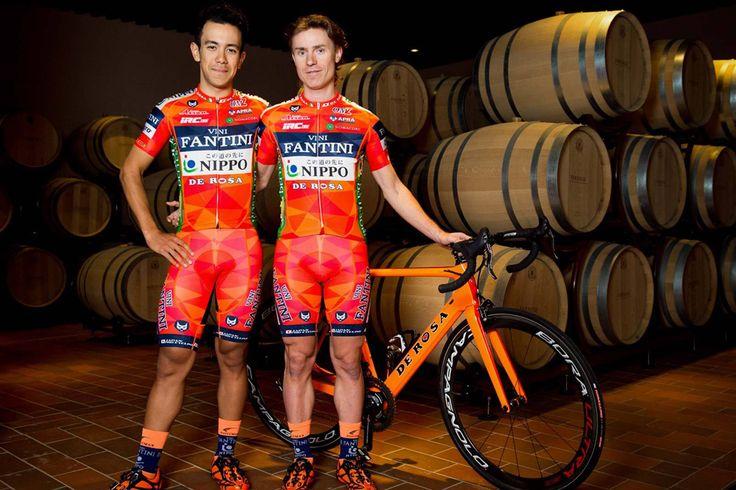 Le nouveau maillot de l'équipe Nippo-Vini Fantini - © Nippo-Vini Fantini  Toute reproduction, même partielle, sans autorisation, est strictement interdite.