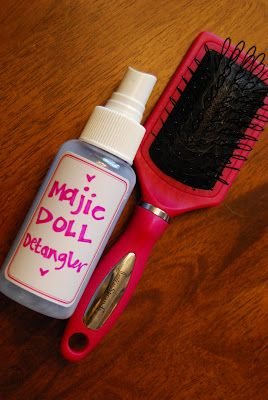 Buttons & Birds: magic doll detangler - this worked on our little ponies.