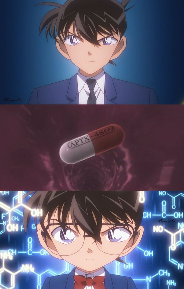 Shinichi and Conan