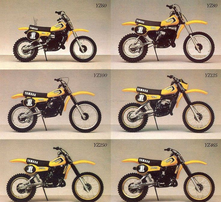 17 Best Images About Yamaha Motocross Bikes On Pinterest