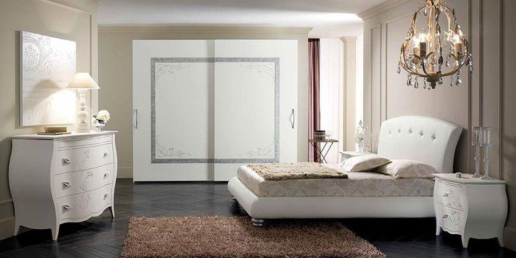 Contemporary Italian Bedroom Luna 05 by Spar - Bedroom Sets