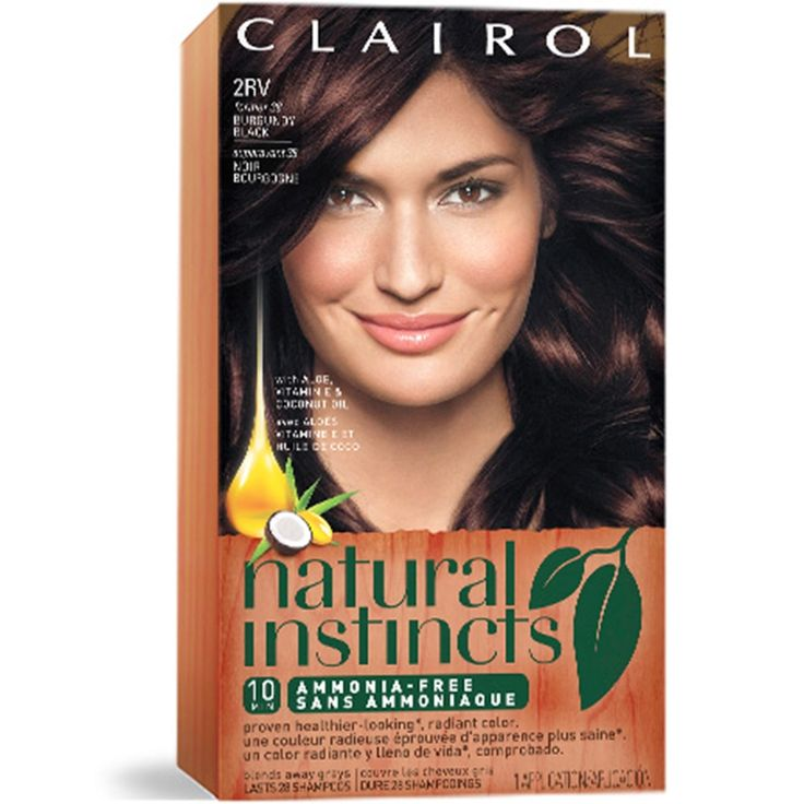Natural Instinct Hair Color - Best Hair Color to Cover Gray at Home Check more at http://frenzyhairstudio.com/natural-instinct-hair-color/