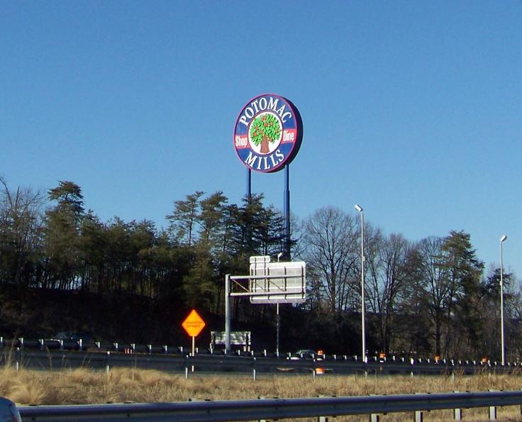 Potomac Mills, Woodbridge, VA Vacation spots, Potomac