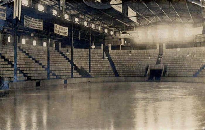 https://flic.kr/p/ebLDzk   Original Home of the Senators - Dey Arena 1920   Located on Laurier Avenue, near the Canal.