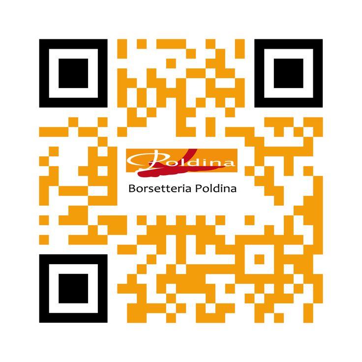 CODICE QR Borsetteria Poldina on line. @STUDIO389C Online & Offline - 2013