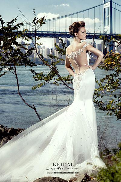Stephen Yearick Bridal 2015 http://www.bridalreflections.com/bridal-dress-designers/stephen-yearick
