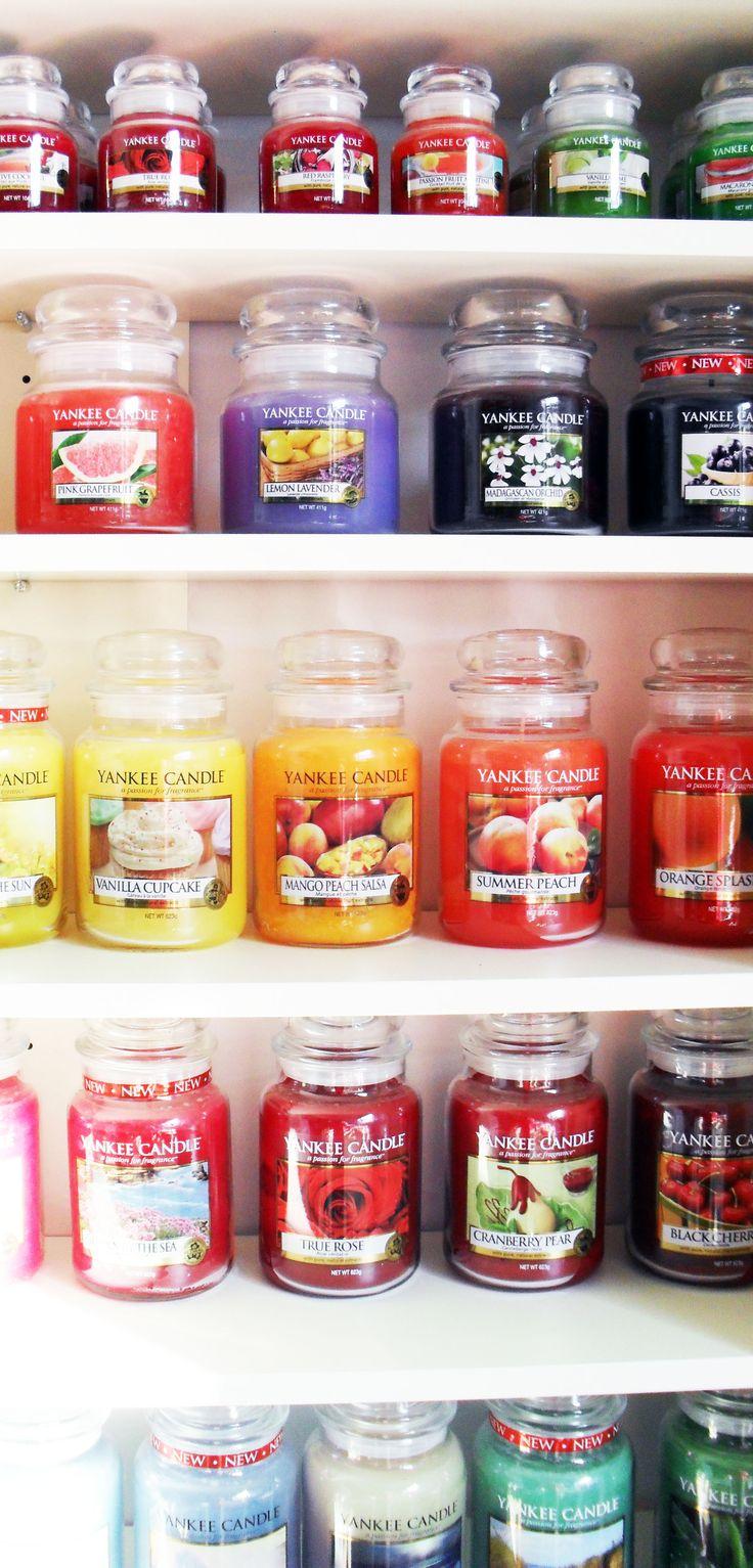 Yankee Candles gehen immer. Vor allem, weil die nicht nur so herrlich duften, sondern auch noch gut aussehen! :D #yankeecandle #duftkerzen #deko