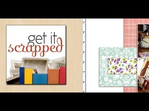 How to Cut and Punch Paper in Photoshop to Make Digital Scrapbook Pages - YouTube