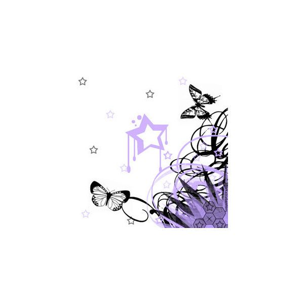 star and butterfly background edited by salvsnena ❤ liked on Polyvore featuring backgrounds, butterflies and borders