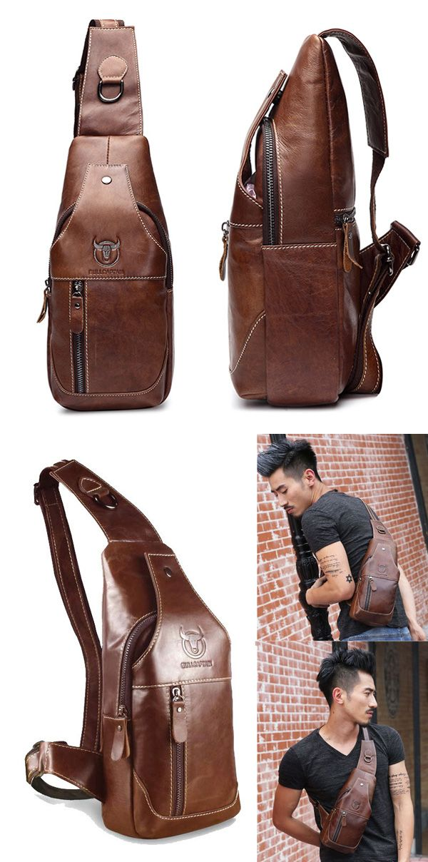 US$39.99+Free shipping. Exquisite Workmanship, Genuine Leather Material, Large Capacity Inside, Classy And Professional Look, Great For Casual&Outdoor Using. Color: Deep Grey, Brown, Black.