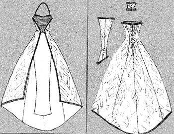 выкройки свадебных платьев: 20 тыс изображений найдено в Яндекс.Картинках