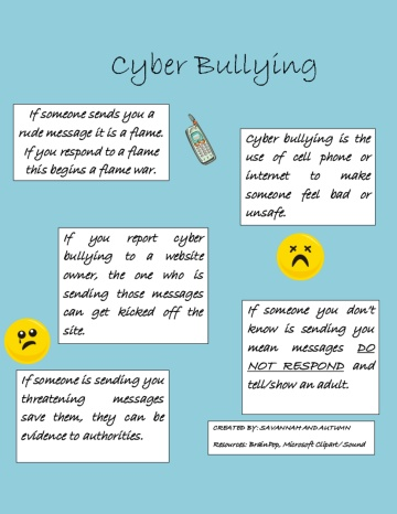 problem solution essay cyber bullying Tips to help stop cyberbullying their perspective is key to getting to the bottom of the situation and working out a solution cyber bullying.
