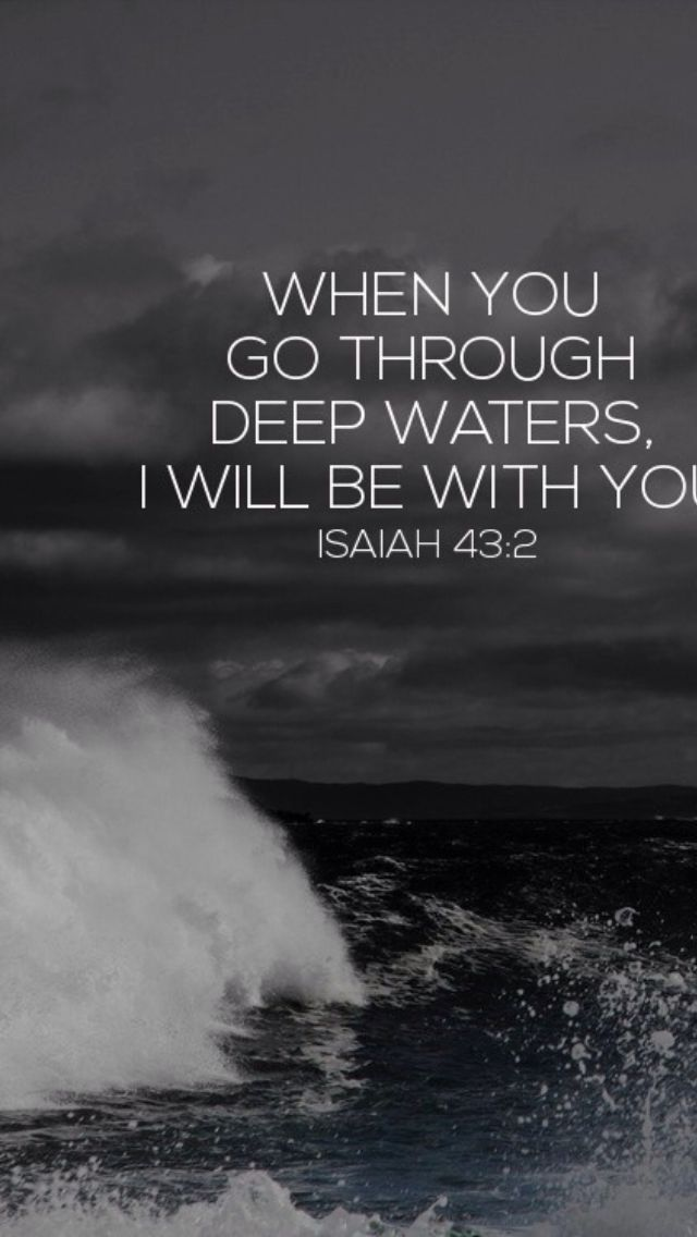 Thats true...I was weak and would have drowned had He not kept my head above water.
