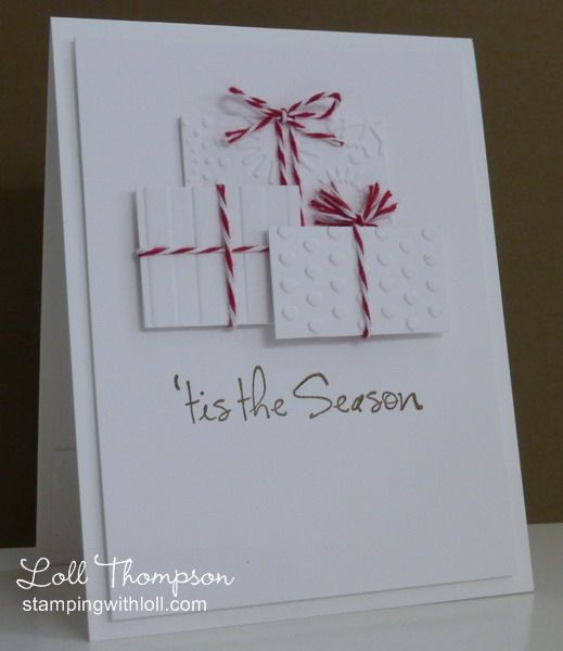 Christmas Packages by Loll Thompson - Cards and Paper Crafts at Splitcoaststampers