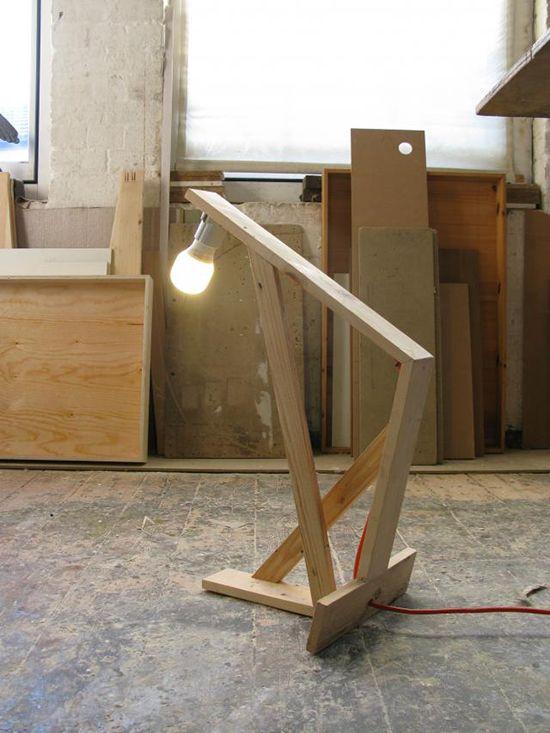 Desain lampu duduk dari pallet bekas ~ Teknologi Konstruksi Arsitektur