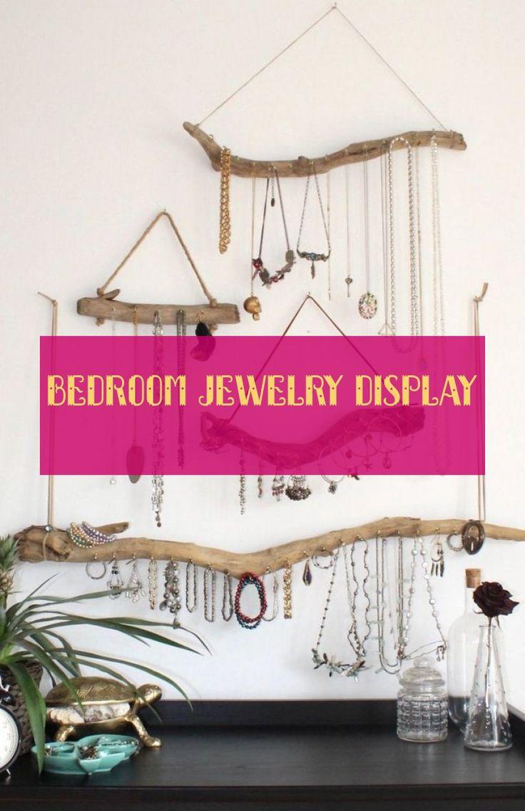 bedroom jewelry display * schlafzimmer schmuck display #bedroom #jewelry #displa…