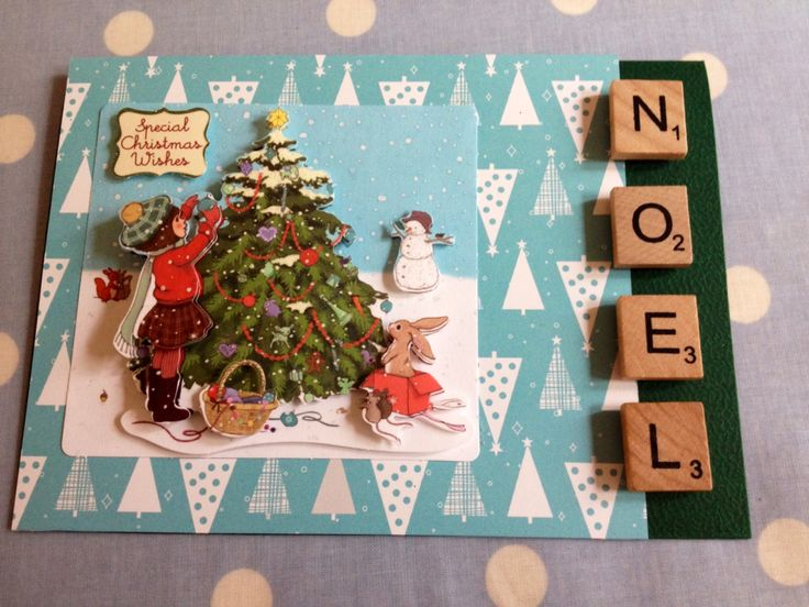 Paper Craft Christmas Card Ideas Part - 21: Belle And Boo Christmas Card