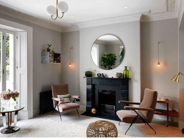 Цвет стен потолка мебели