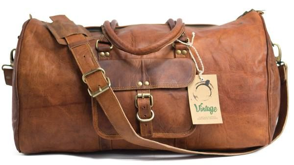 Best Quality Handmade Leather Bags In Australia! Vintage Leather Orlando Duffle Bag is Available with Fast and Free Delivery Nation Wide. Buy Now Pay Later.