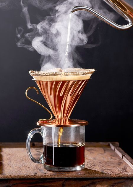 Manual Pour-Over Coffee Dripper