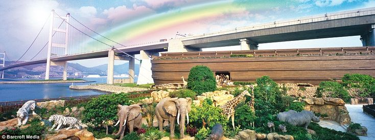 The billionaire brothers who built the Ark in Hong Kong claim it is the only ful-scale version in the world