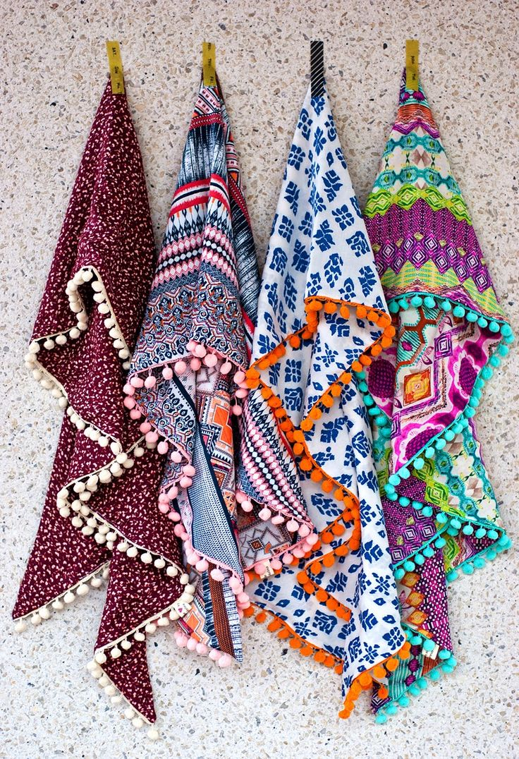 ☮ American Hippie Bohemian Boho Style ~ Accessories .. Scarves
