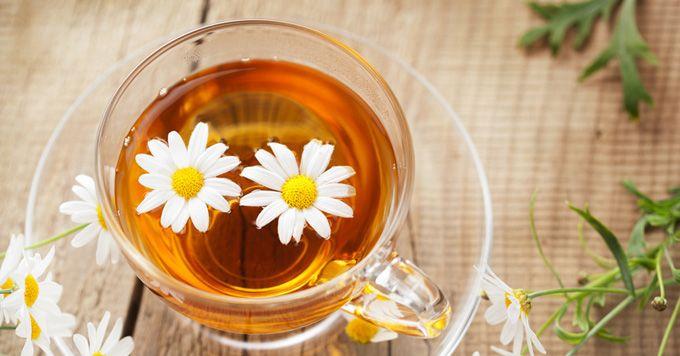 Kopretinový čaj... Hmm