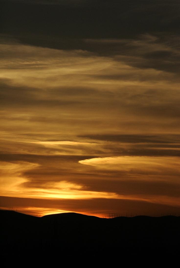 Sunset, Tracy California