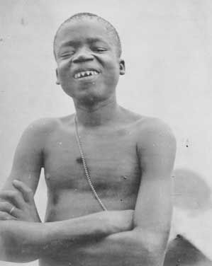 8.At the age of 20, Ota Benga, a Congolese pygmy, was taken from Africa to be exhibited in a zoo with monkeys in Missouri. He sadly committed suicide at the age of 32 by shooting himself in the heart.