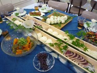 ☆~七夕の食卓~☆(行事食実習&テーブルコーディネートマナー) | 新着情報 | 山陽女子短期大学