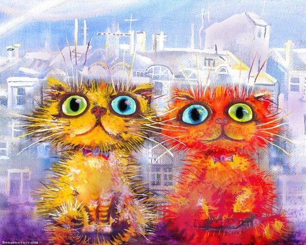 Кот можно, открытка кошки прикольные картинки