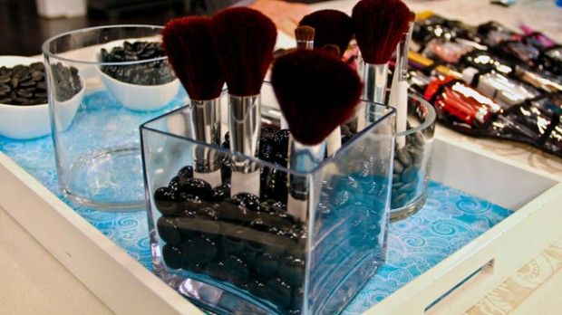 Clever Ways to Store Your Makeup | Steven and Chris | We have some cute and clever ways to store your makeup. Ladies, you're going to love these!