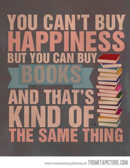 Books = Happiness…