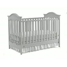 Fisher-Price Charlotte Traditional Crib-Misty Grey Finish; comes in white (209) and transitions to toddler bed; 200 (grey)