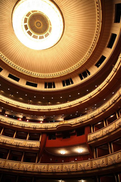 Vienna State Opera House by tomquah, via Flickr