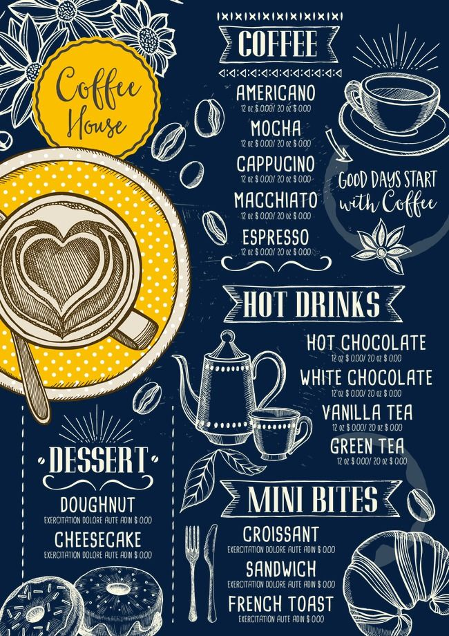 Cafe Coffee Hand Painted Png Transparent Clipart Image And Psd