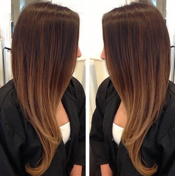 lalaK15 ombre with highlights