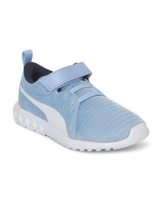 e86faa3c867 Puma Kids Blue Carson 2 V Pre School Sneakers -