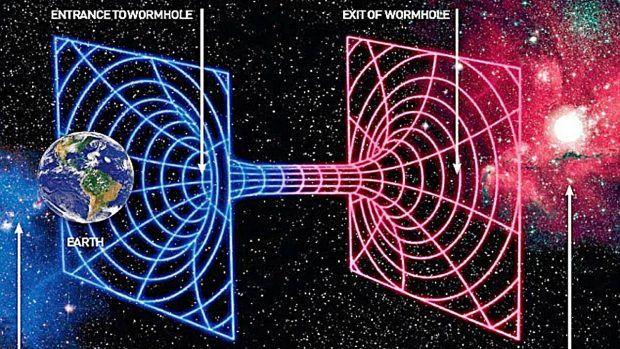 Diferencias entre agujeros negros y agujeros de gusano