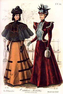 """""""Nouveautes Parisiennes"""", 1897"""