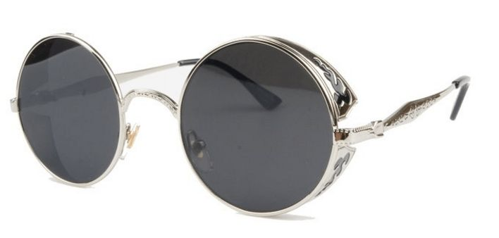Awesome style combined with exceptional quality, performance, and comfort. Complete your look with these amazing Steampunk sunglasses.  https://steampunkheaven.net/products/steampunk-vintage-circle-frame-sunglasses?variant=28956821714