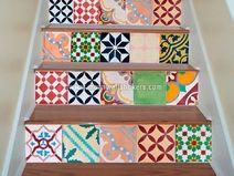 Wandtegels Stickers voor Trappen Patroon Deco