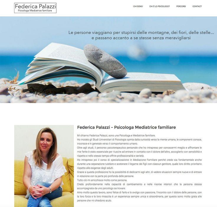 Nuovo sito per Federica Palazzi, psicologa mediatrice familiare a Fano:www.federicapalazzi.it