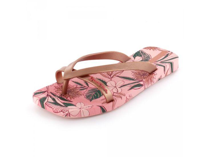 Ipanema - Fashion Kirey II Fem Damen Zehensteg-Pantolette in rosé