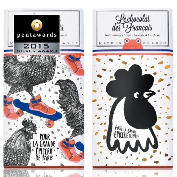 Silver Pentaward 2015 – Food – Le chocolat des Français