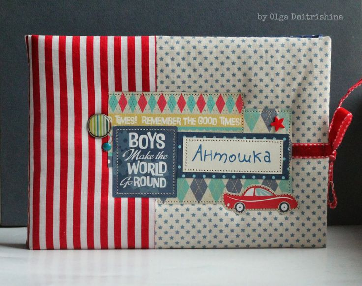 Handmade by Dmitrishina: Альбом для мальчика и для девочки. Boy's & girl's albums.